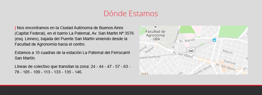 Estamos en Av. San Martín 3576, La Paternal, Ciudad Autónoma de Buenos Aires